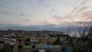 la ciudad de Pacasmayo desde el cementerio
