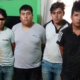 Detienen a cuatro presuntos delincuentes con arma de fuego